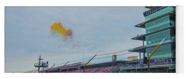 Indianapolis 500 May 2013 Balloons Race Start Yoga Mat