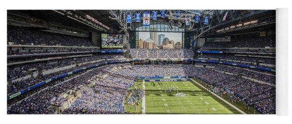 Indianapolis Colts Lucas Oil Stadium 3143 Yoga Mat