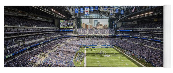 Indianapolis Colts Lucas Oil Stadium 3143 Yoga Mat