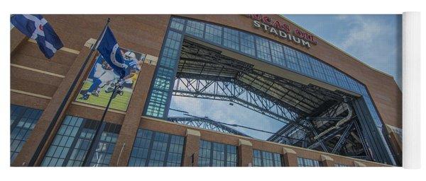Indianapolis Colts Lucas Oil Stadium 3260 Yoga Mat