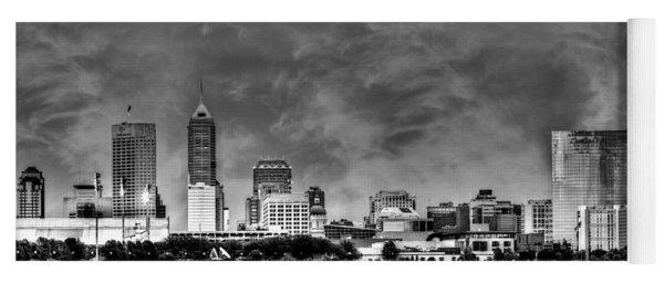 Indianapolis Indiana Skyline 0762 Yoga Mat