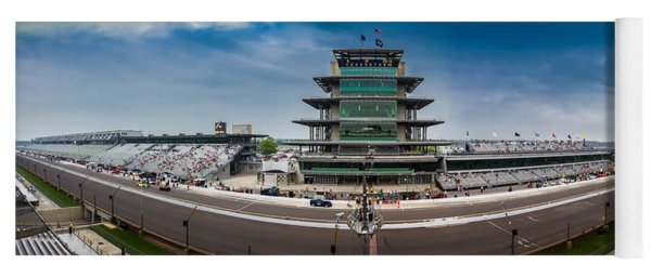 Indianapolis Motor Speedway Yoga Mat