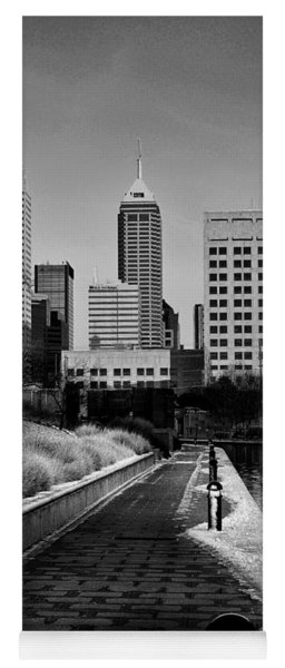 Indianapolis Skyline 21 Yoga Mat