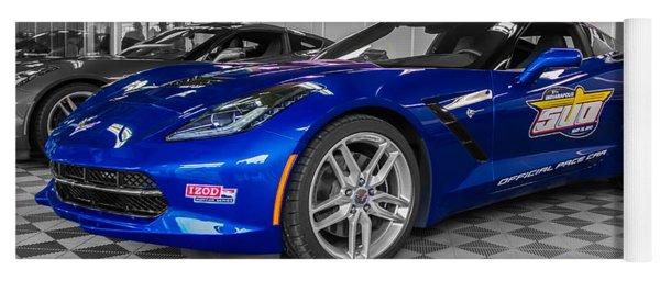 Indy 500 Corvette Pace Car Yoga Mat