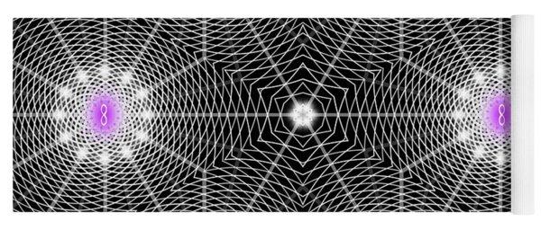 Infinity Grid Six Yoga Mat