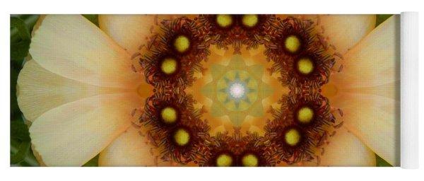 Inner Petal Flower Mandala Yoga Mat