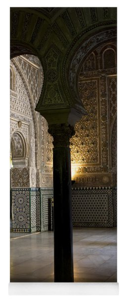 Inside The Alcazar Of Seville Yoga Mat