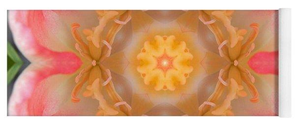 Inside Tulip Mandala Yoga Mat