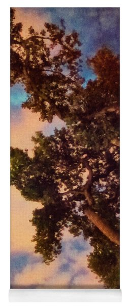 Inspired By Maxfield Parrish Yoga Mat