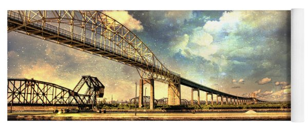 International Bridge Sault Ste Marie Yoga Mat