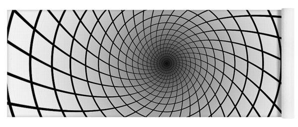Into The Einstein - Rosen Bridge Yoga Mat