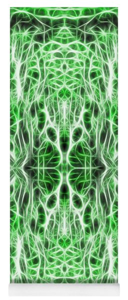 Into The Matrix Yoga Mat