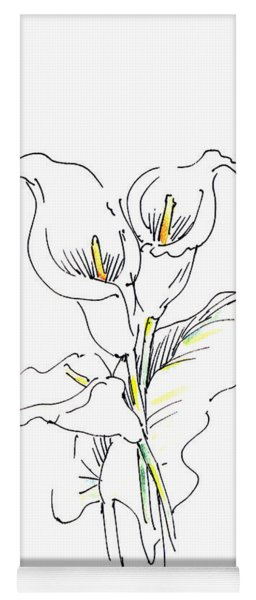 iPhone-Case-Lily-Painting2 Yoga Mat