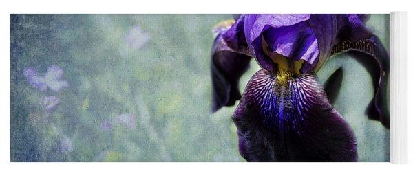 Iris - Purple And Blue - Flowers Yoga Mat