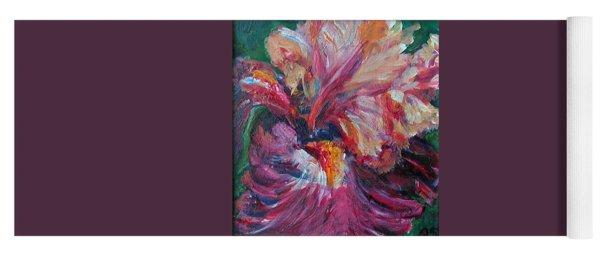 Iris - Bold Impressionist Painting Yoga Mat