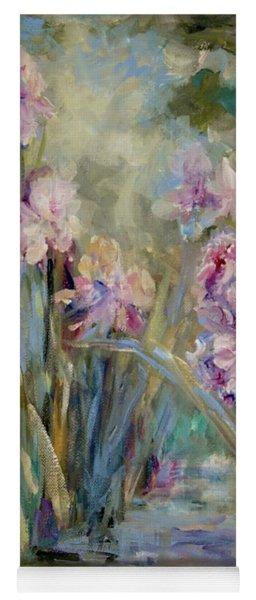 Iris Garden Yoga Mat