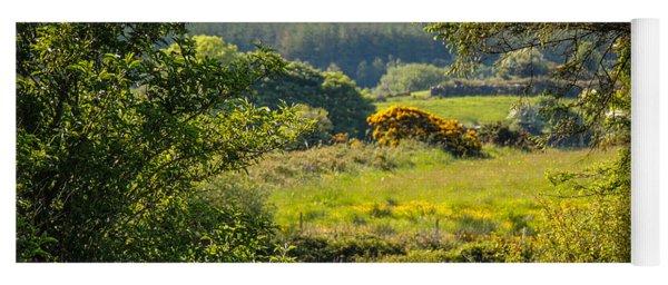 Irish Countryside In Spring Yoga Mat