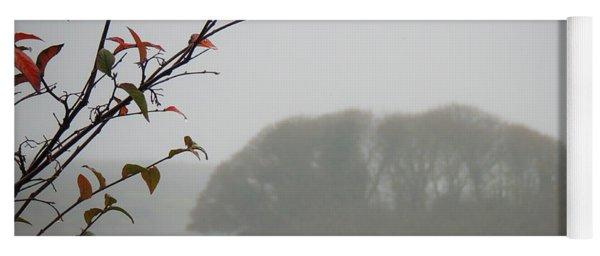 Irish Crannog In The Mist Yoga Mat