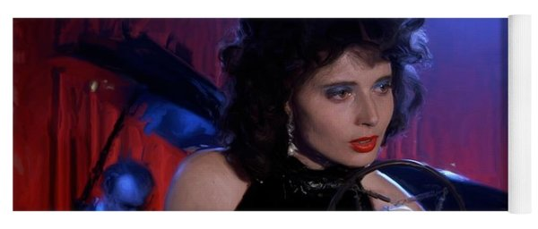 Isabella Rossellini In The Film Blue Velvet Yoga Mat