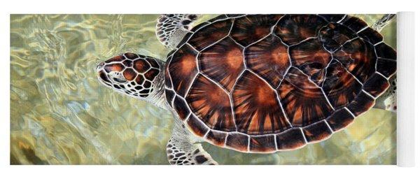 Island Turtle Yoga Mat