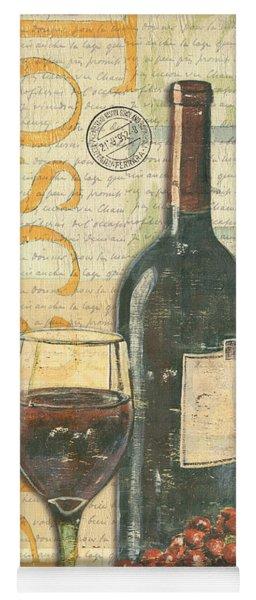 Italian Wine And Grapes Yoga Mat