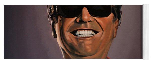 Jack Nicholson 2 Yoga Mat