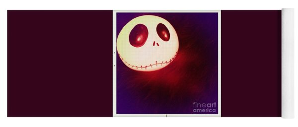 Jack Skellington Glowing Yoga Mat