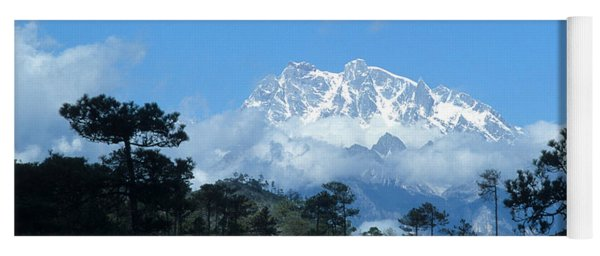 Jade Dragon Snow Mountain Yunnan China Yoga Mat