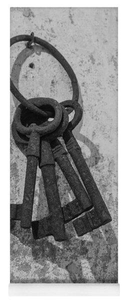 Jail House Keys Yoga Mat