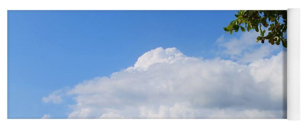 Jamaica Clouds Yoga Mat