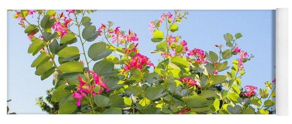 Jamaican Flowering Tree Yoga Mat