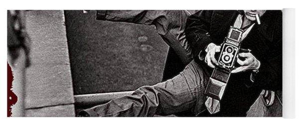 James Dean Rolleiflex New York City 1954-2014 Yoga Mat