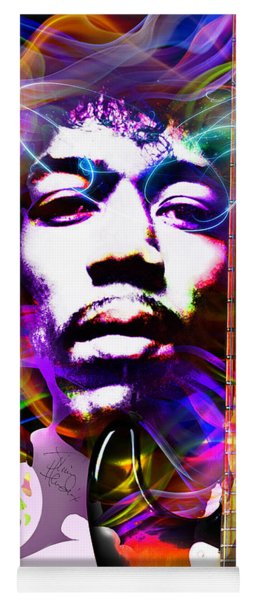 James Marshall Hendrix Yoga Mat
