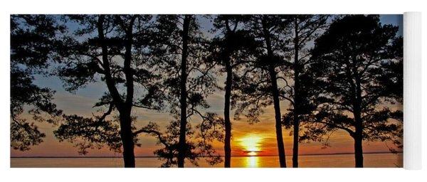 James River Sunset Yoga Mat