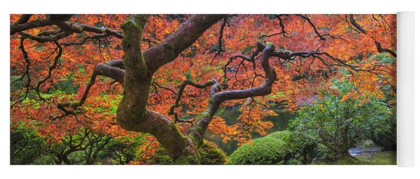 Japanese Maple Tree Yoga Mat