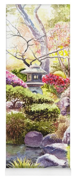 San Francisco Golden Gate Park Japanese Tea Garden  Yoga Mat