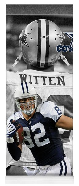 Jason Witten Cowboys Yoga Mat