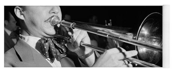 Jazz Trombonist Eddie Bert - 1947 Yoga Mat