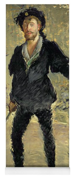 Jean Baptiste Faure In The Opera Hamlet By Ambroise Thomas Yoga Mat