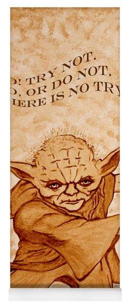 Jedi Yoda Wisdom Yoga Mat