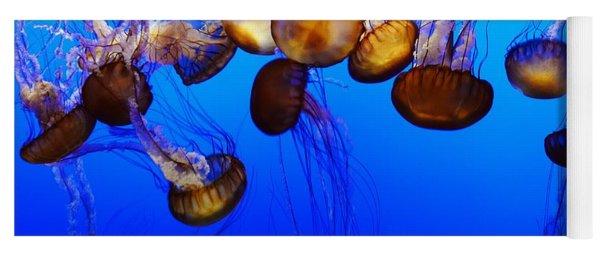 Jelly Fish Pod Yoga Mat