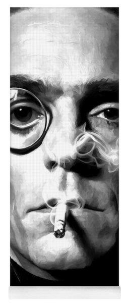 Jeremy Irons Portrait Yoga Mat