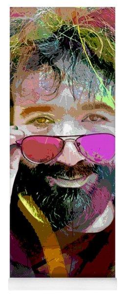 Jerry Garcia Art Yoga Mat