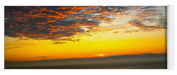 Jersey Morning Sky Yoga Mat