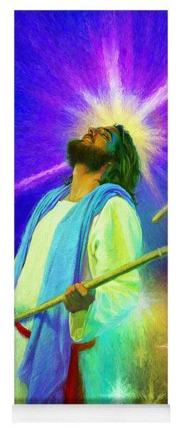 Jesus Rocks Yoga Mat