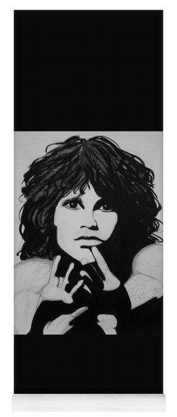 Jim Morrison Yoga Mat