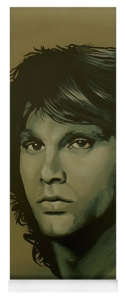 Jim Morrison Painting Yoga Mat