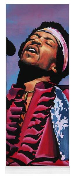 Jimi Hendrix 2 Yoga Mat