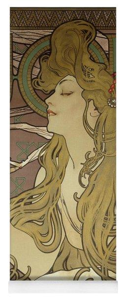 Job, 1896 Colour Lithograph On Poster Paper, Framed Yoga Mat
