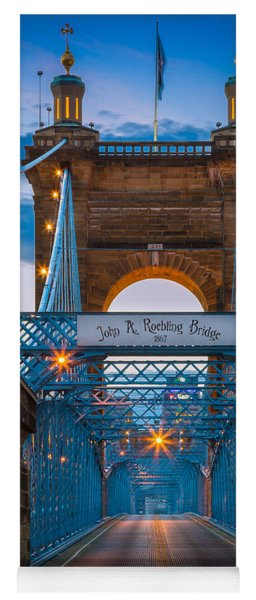 John A. Roebling Suspension Bridge Yoga Mat